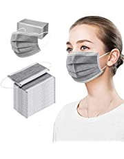 Fancrout 50 Pcs Disposable Face 3 Ply
