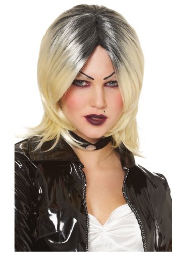 Franco American Novelty Company Bride of Chucky Wig Standard,Blonde -