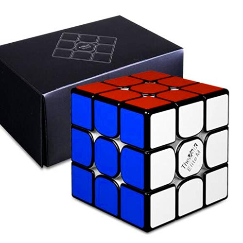 cuberspeed QiYi Valk 3 Elite M Magnetic 3x3x3 Black Speed Cube QiYi MoFangGe The Valk 3 Elite M 3X3X3 2019 Flagship Cube