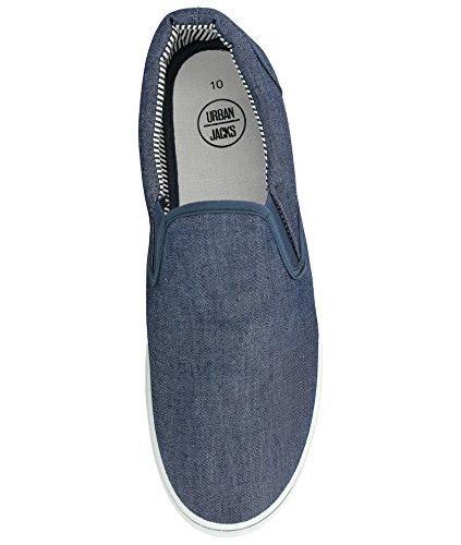 numeri Scarpe a uomo dal da casual 5 disponibili Denim antiscivolo nei espadrillas al mocassino modello 47 ginnastica ideali 40 abbinare Blue all'abbigliamento ideali da scarpe da UUwrqnPF