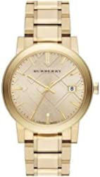 Burberry The City Champagne Dial Gold-tone UnisexWatch BU9033