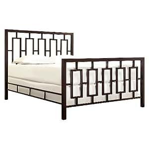 Jaffray Standard Metal Bed - Bronze (Queen)