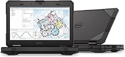 """Latitude Rugged 5404 WorkStation 14"""" TOUCH Screen Laptop Tough Book PC (Intel Core i7"""
