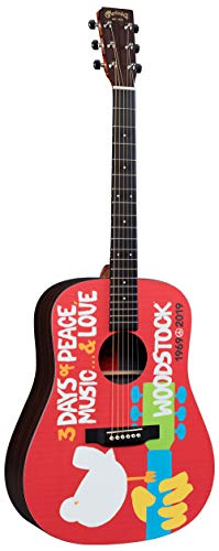 Martin DX Woodstock 50th Anniversary Acoustic-Electric Guitar
