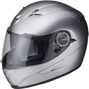 Scorpion EXO-500 Solid Hyper Silver Full Face Helmet - X-Small