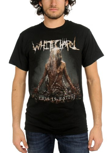 WhiteChapel - Mens This is Exile T-Shirt in Black