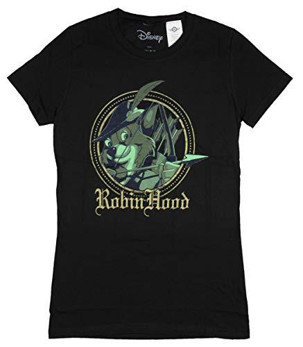 Shirt Robin Hood - Disney Robin Hood Shirt Arrow Medieval Juniors T-Shirt (XX-Large) Black