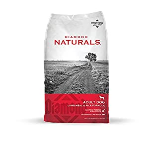 Diamond Naturals Adult Real Meat Recipe Premium Dry Dog Food With Real Pasture Raised Lamb Protein 40Lb 101