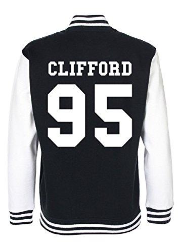 Minamo Michael Clifford 5SOS Varsity Jacket Medium (38-40 inches) Black