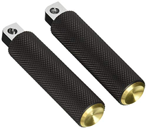 Arlen Ness 07-932 Brass Fusion Male-Mount Footpegs And Shift Peg