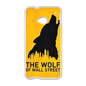 HTC One M7 phone cases White Wolf Of Wall Street Phone cover KLW4132667