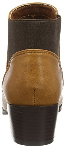Boots Spot Pu Marron Ankle Sans Doublure Femme Brown On F50230 tan qttvWFPB