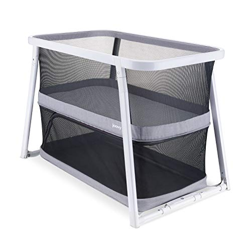 Coo Portable Bassinet Playpen, Gray