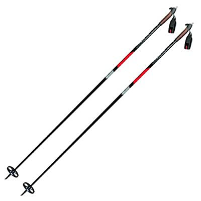 Alpina Sports ASC-BC Back-Country Cross-Country Nordic Ski Poles with Round Baskets, 160cm, Pr.