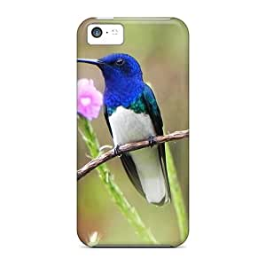 New White Necked Jacobin Cases Covers, Anti-scratch Phone Cases For Iphone 5c
