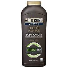 Gold Bond Ultimate Men's Essentials Body Powder, Refresh 360, 10 Oz by Gold Bond