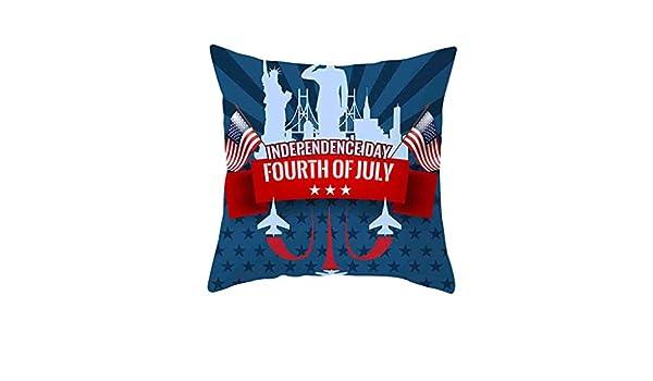 Little Story Independence Day - Funda de Almohada para sofá ...