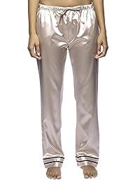 Noble Mount Women's Classic Satin Lounge Pants