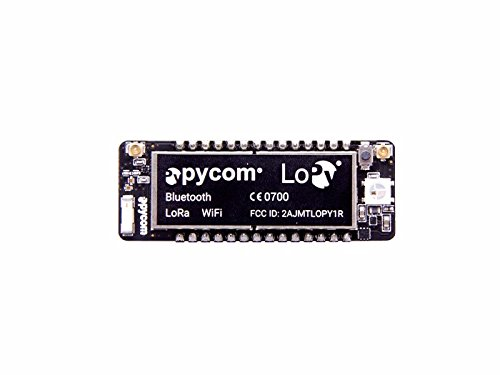 In ZIYUN LoPy,is the only triple bearer MicroPython enabled micro controller on the market today – the perfect enterprise grade IoT platform for your connected Things,Fits in a standard breadboard