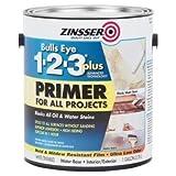 Zinsser Bulls Eye 1-2-3 Plus 128 Oz Interior/Exterior Primer 2/PK