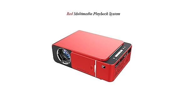 Covan_CN Proyector HD para el hogar/Mini proyector LED/portátil ...