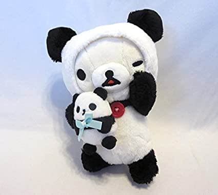 In panda Goron theme stuffed Korilakkuma