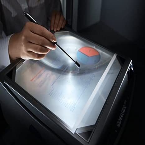 Nobo 2511 Quantum - Proyector de transparencias, color plateado ...