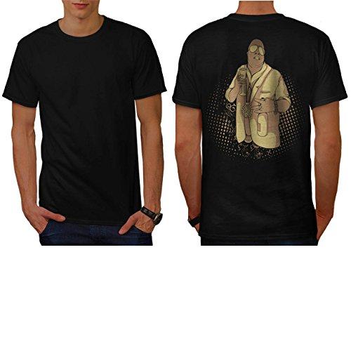 Coat Fur Pimp - Gangster Rapper Life Bling Swag Men NEW L T-shirt Back | Wellcoda