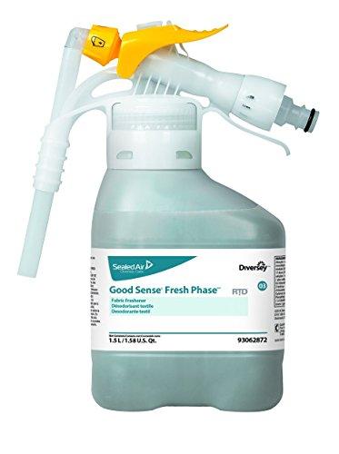 Diversey Good Sense 93062872 Fresh Phase RTD Fabric Freshener, 2 x 50.7 oz./1.5 L (Pack of 2) by Diversey