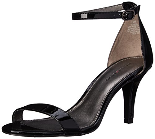 Bandolino Women's Madia Dress Sandal, Black Patent, 7 M US
