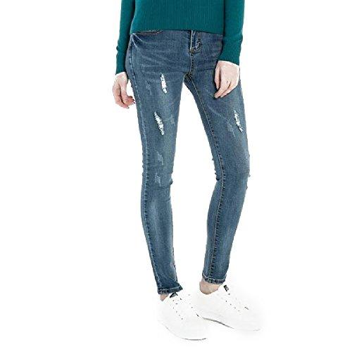 Extreme Pop - Jeans - Femme Violet indigo