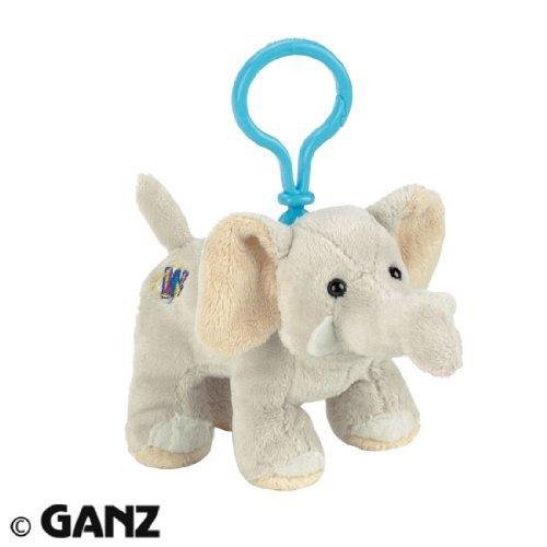Webkinz Plush Kinz Klip Velvety Elephant ()