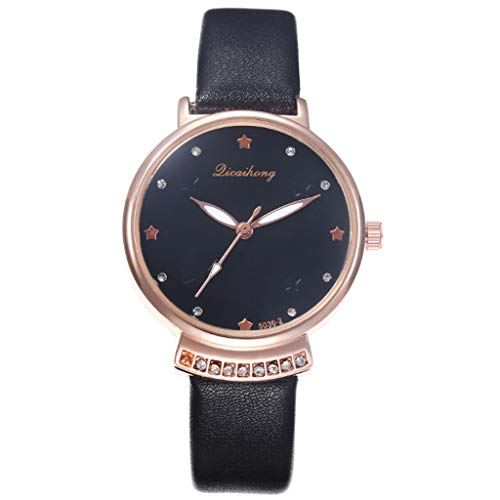Women Watches Quartz Analog Leather Band Wrist Watches Lady Fashion Casual Bracelet Watch for Women A076