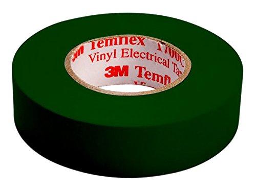 0,15/mm 3/M tgru1510/Temflex 1500/vinyle /électrique Ruban isolant 15/mm x 10/m vert