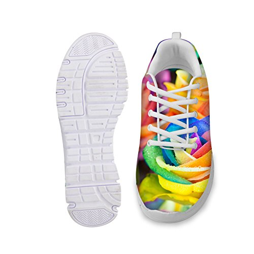Non Stylish Womens Running Slip floral 6 Rose Shoes CHAQLIN wfqdRw