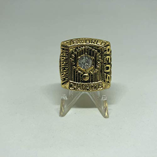 Johnny Bench MVP Cincinnati Reds High Quality Replica 1976 World Series Championship Ring Size 10-Gold Color US SHIPPING