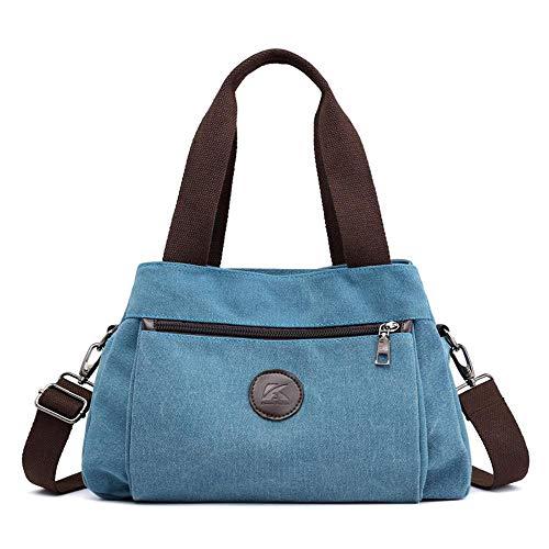 dames te crossbody voor Wwave dragen tas dames crossbody nieuwe canvas blauw om resistent C casual dame handtassen tas aAAxI
