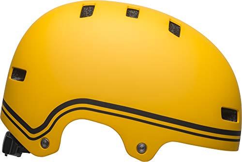 Bell Local Adult BMX & Skate Helmet (Classic Matte Yellow/Black (2019), Medium)