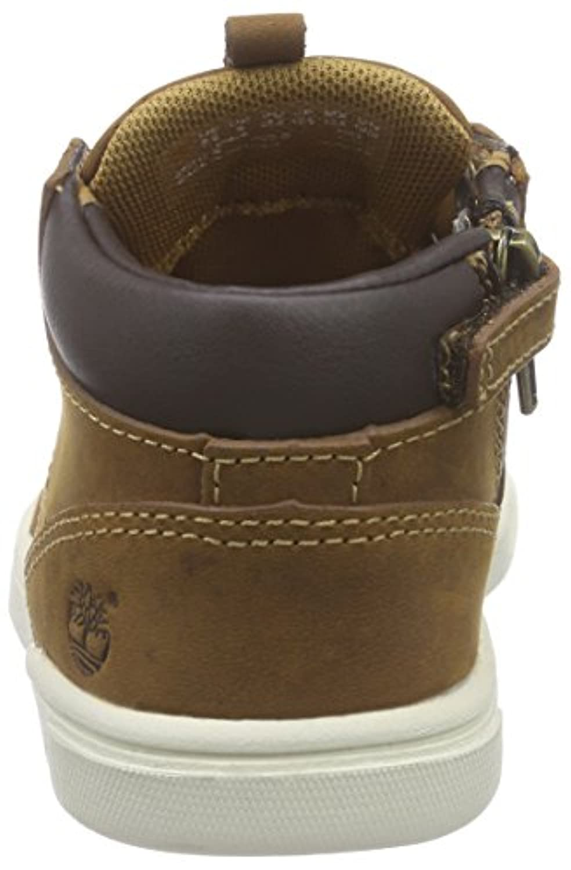 Timberland Groveton_groveton Leather Chukka, Unisex Kids' Low-Top Sneakers, Brown (Glazed Ginger Roughcut), 6.5 Child UK (23.5 EU)