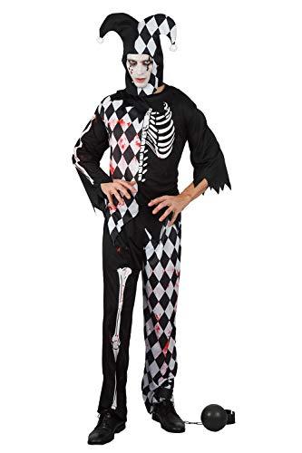 Halloween Costume Idead (U LOOK UGLY TODAY Halloween Costume Mens Cosplay Clown Joker Child's Dress Up Costumes)