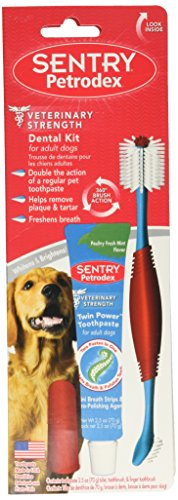 (SENTRY Petrodex Dental Care Kit for Adult Dogs)