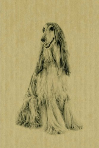 Afghan Hound: Artified Pets Dog Journal/Notebook/Diary (Artified Pets Inked Dogs) (Volume 4)