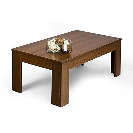 Mobilifiver Easy Tavolino da Salotto, Legno, Marrone, 100x55x40 cm