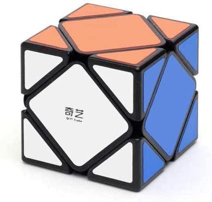 Cubelelo QiYi QiCheng A Skewb Black Speed Cube Puzzle