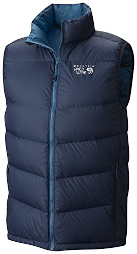 Mountain Hardwear Lightweight Vest - Mountain Hardwear Ratio Down Vest - Men's Hardwear Navy Small