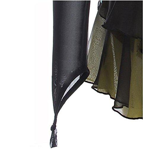 Patinage Sport La Artistique Main Pleine Fait Robe Fille Utilisation À Spandex Détente Couleur Noir De Femme Mode Hautsrobe rxwa7pr