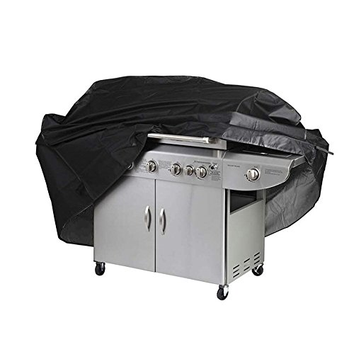 ALIPOWER BBQ Grill Cover, 67-inch Waterproof Heavy-Duty Premium BBQ Grill Cover Gas Barbeque Grill Cover -Medium(67″ Lx24 Dx46 H) Black