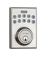 The Kwikset Electronic Deadbolt delivers the ultimate in Keyless Entry convenience with up to 6 individual customized User Codes. It's a perfect fit for an active lifestyle so that you don't have to worry about carrying or losing your keys. Y...