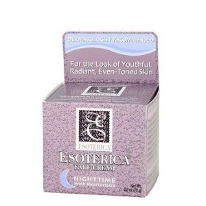 Esoterica Fade Cream Nighttime With Moisturizers, 2.5 oz Resveratrol Face Sheet Mask - 1 Count by The Creme Shop (pack of 3)