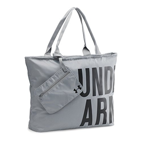 UPC 889362690650, Under Armour Big Wordmark Tote, Steel (035), One Size
